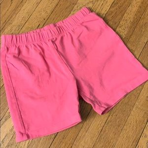 GAP kids pink biker shorts